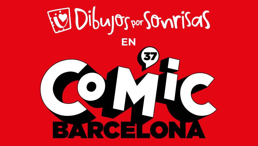 Posca colabora con Dibujos por sonrisas en La Feria del Cómic de Barcelona 2019